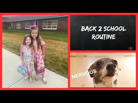 BACK 2 SCHOOL ROUTINE!! What we wore the first days of school!! thumbnail
