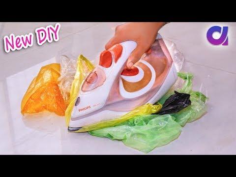 Old Plastic Bag Reuse Ideas   Best Out Of Waste   Artkala 343