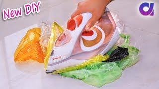 old plastic bag reuse ideas | Best out of waste | Artkala 343
