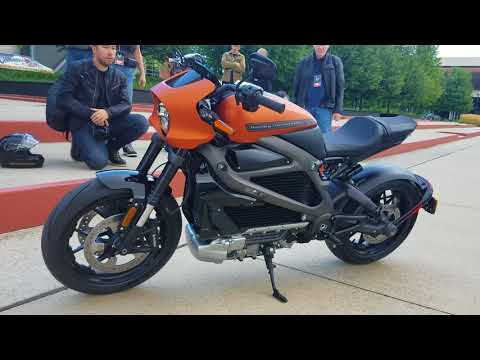 2020 Harley Livewire Electric Motorcycle