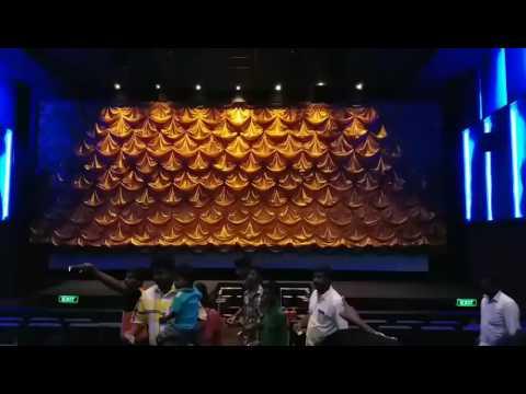 Vetri Cinemas Screen Opening  With Mangatha Theme