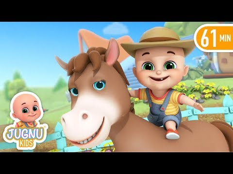 Old McDonald had a farm - Nursery Rhymes Compilation from Jugnu Kids