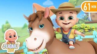 Old McDonald had a farm song | Jugnu kids Nursery Rhymes & Kids songs