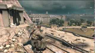 Sniper Elite V2 Silver Star Edition- Ep9- What? They Have A Tank! AGAIN!!