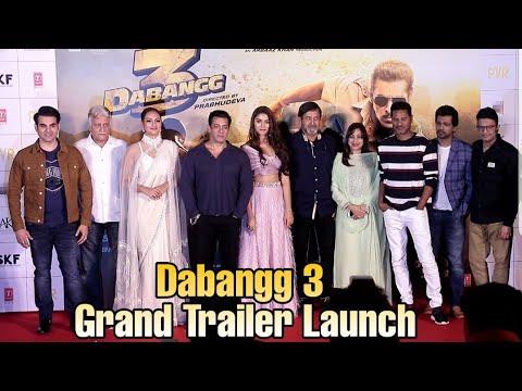 Dabangg 3 Grand Trailer Launch | Complete Event | Salman Khan, Sonakshi Sinha