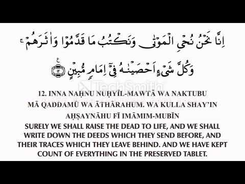 Surah Yasin 11   20