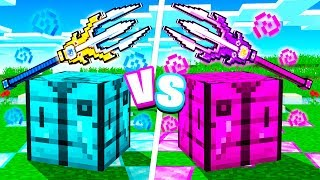 Boy vs Girl $1,000,000 OP Minecraft Trident Challenge!