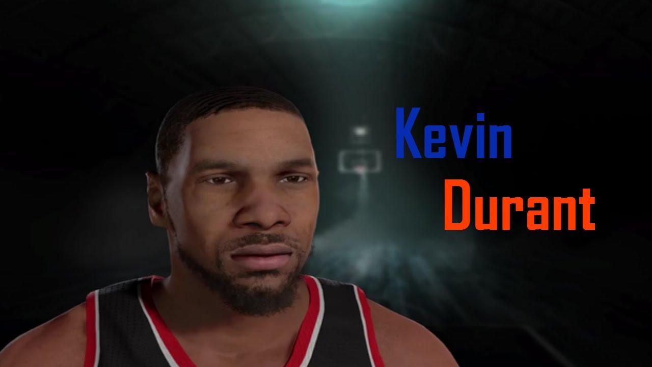 7046ea08db9 NBA 2K Player Creation - Kevin Durant - YouTube