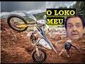 TRILHA DE MOTO - TOMBO NA TRILHA - ROIA NA TRILHA - Leandro #82