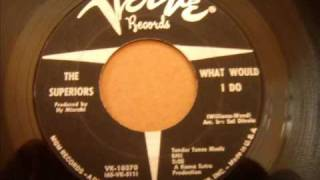 Killer Northern Soul Dancer - Superiors - What Would I Do