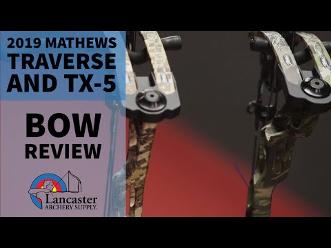 2019 Mathews Traverse And TX-5 Compound Bow Review