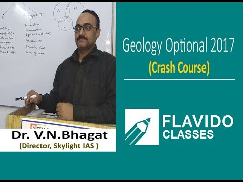Geology Optional Crash Course for IAS/IFoS Examination by Dr