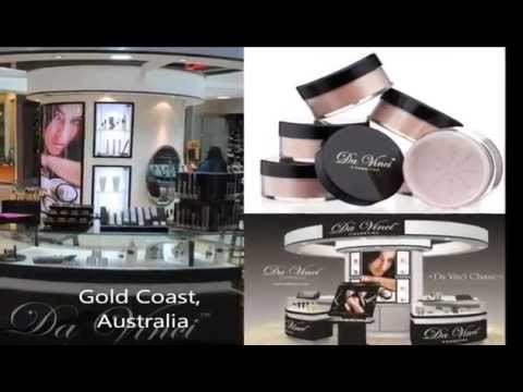 Mineral Makeup Line Da Vinci Cosmetics - Made in the USA