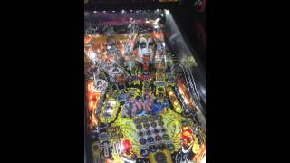 Stern KISS pinball machine - First UK version being tested ;-)