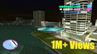 How to get an UFO in gta vice city