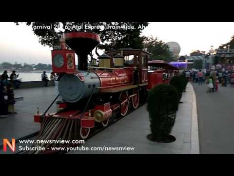 Atal Express Train Ride Kankaria Lake Ahmedabad | Kankaria Carnival 2016 | New Year Festival