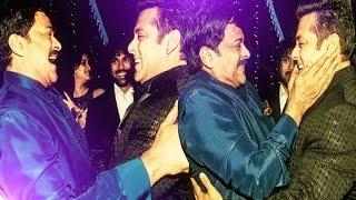 Chiranjeevi 60th Birthday Party  Exclusive Video    Megastar Chiranjeevi, Pawan kalyan