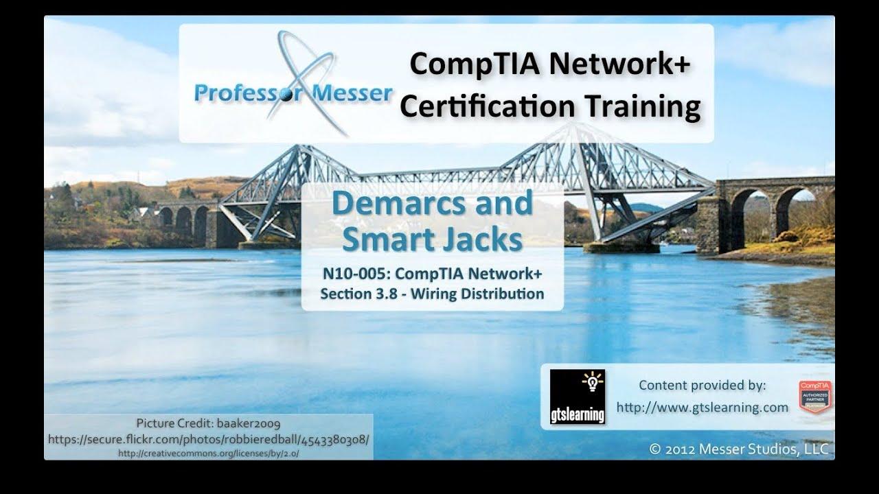 demarc and smart jacks comptia network n10 005 3 8 [ 1280 x 720 Pixel ]