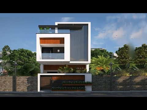 Cute Double Floor House in 15x60 Plot 1200 Sft for 12 Lakh | Elevation | Home Plan | Interiors