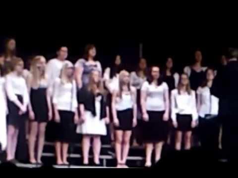 Omro High School Choir, Spring 2013