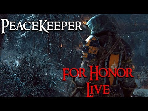For Honor on PC With a Walrus. Keeping the Peace. (Discord is now live!)