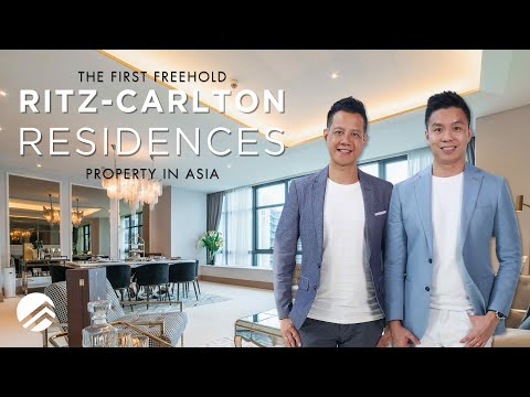 Ritz-Carlton Residences : Inside a $11 Million Freehold Luxury Living In The Heart Of The City
