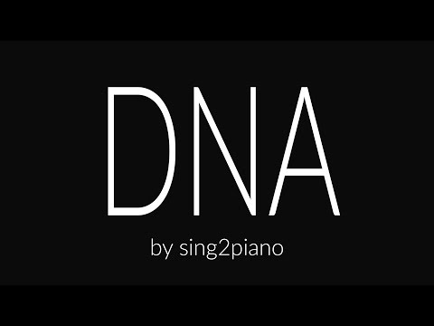 DNA (Piano Karaoke) Lia Marie Johnson