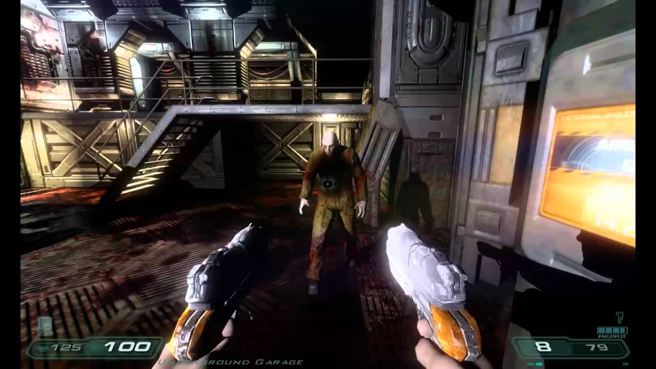 Perfected Doom 3 Gameplay With Commentary 20 Minutes