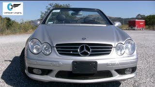 2005 Mercedes CLK500 Convertible Test Drive and Review
