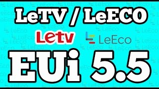EUi 5.5 [ Eco User Interface ] on LeTV / LeEco Le 1S Phone   EUI 5.5.008S