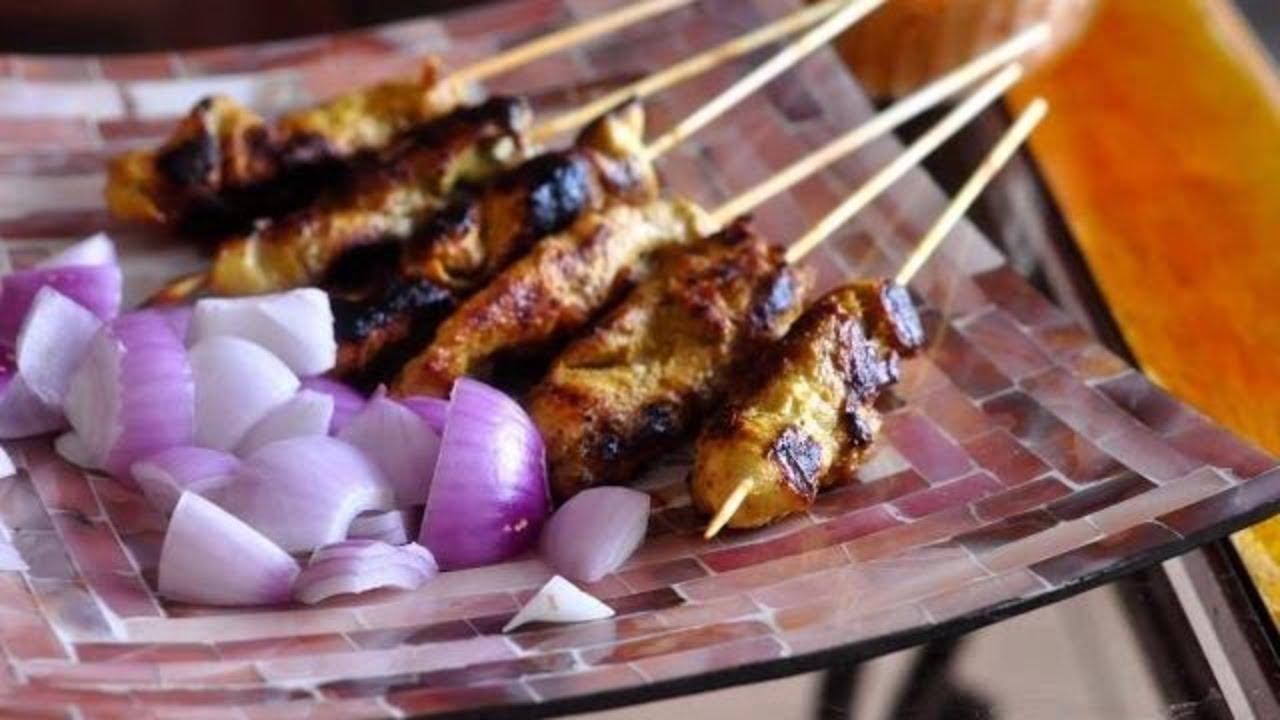 how to make malaysian satay