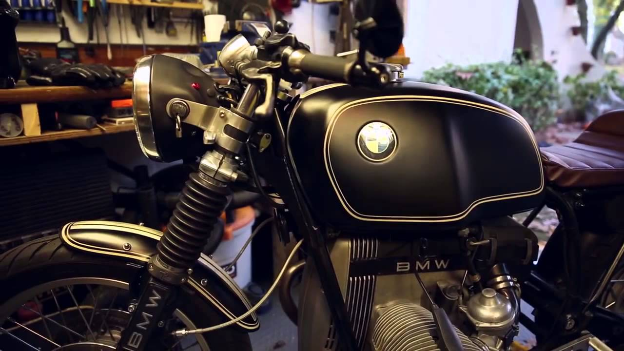 cafe racer motorcycle bill costello bmw r100 cafe racer. Black Bedroom Furniture Sets. Home Design Ideas