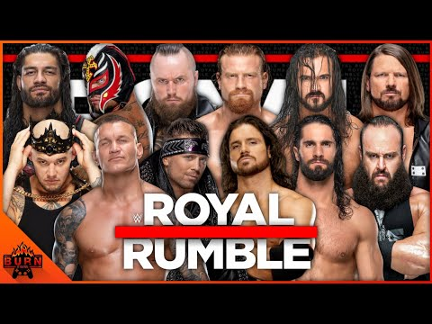 WWE 2K20 30 MAN ROYAL RUMBLE MATCH