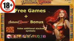 Autumn Queen video slot | Free spins big win | Novomatic