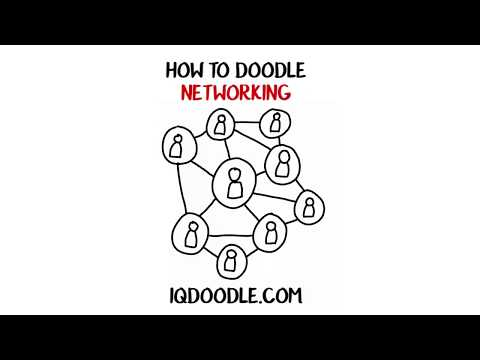 How to Draw Networking (drawing tips)
