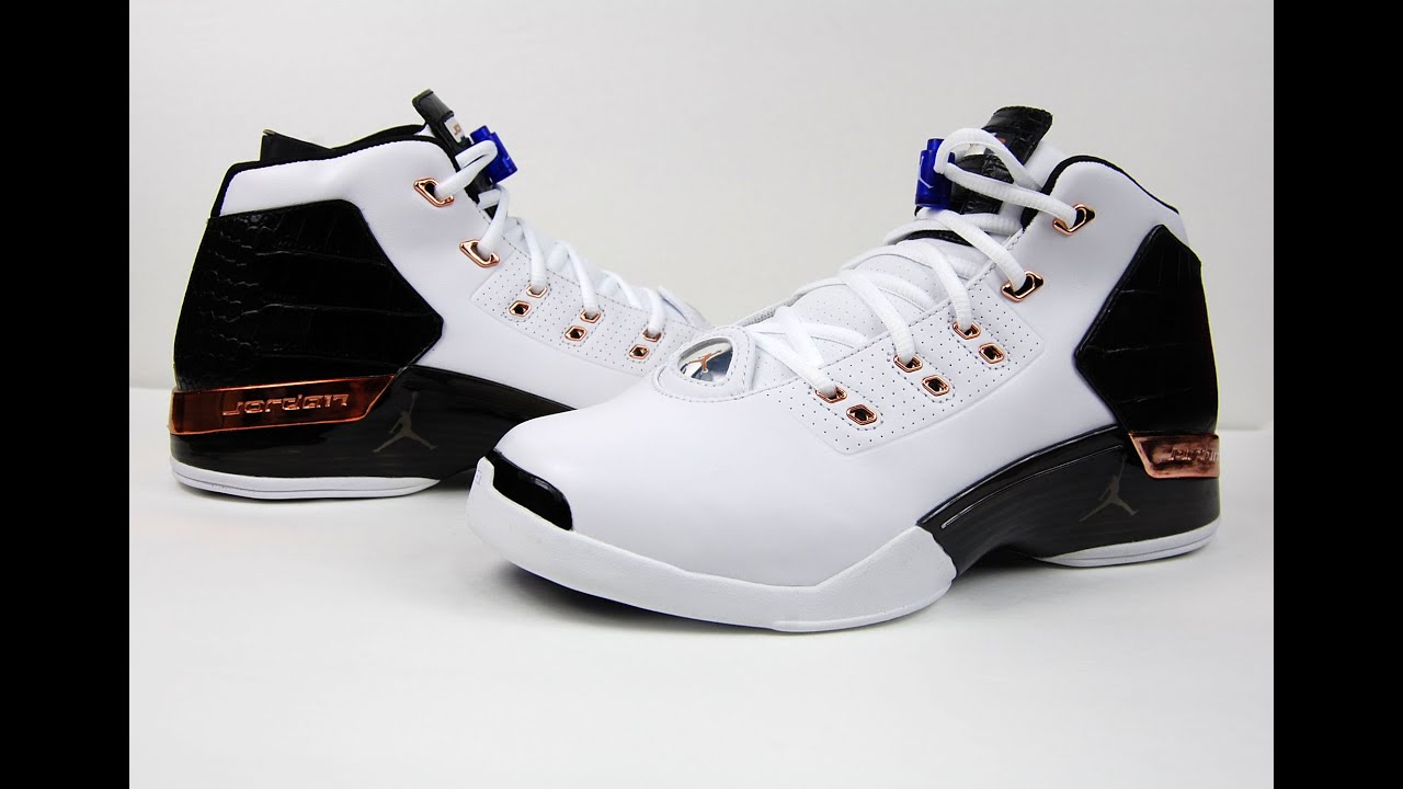Air Jordan 17 Copper Retro 2016 Review