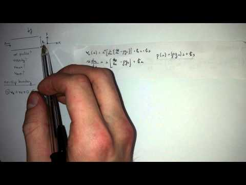 Navier Stokes Equation (Couette Flow Examples) part 1