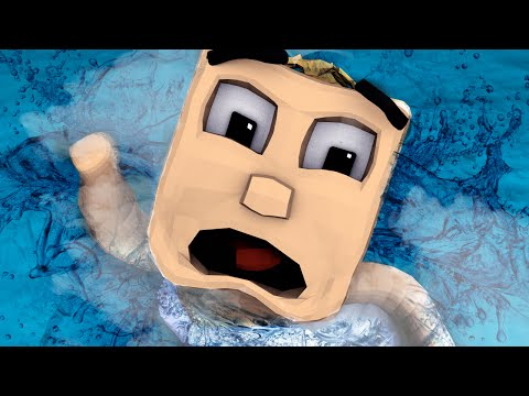 Minecraft | WHO'S YOUR DADDY? Baby Floods House to Drown PEOPLE! (Baby Drowns) |