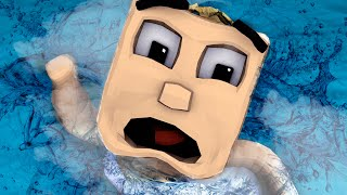 minecraft   who s your daddy baby floods house to drown people baby drowns
