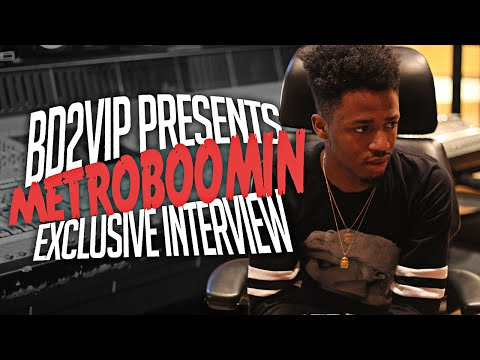 BD2VIP In Studio With Metro Boomin {Exclusive Interview}