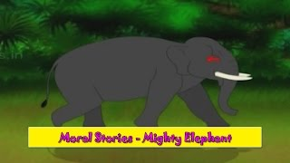 Mighty Elephant | Ghamandi Haathi | Gujarati Moral Stories For Kids | Gujarati Varta For Children