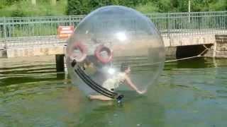 """Я катаюсь на """"Водном шаре"""""""