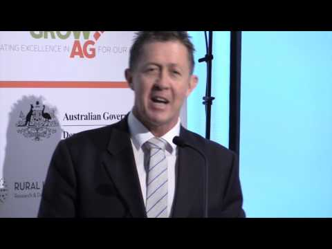 GrowAg 2016: The Hon. Luke Hartsuyker MP, Assistant Minister to the Deputy Prime Minister