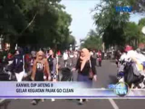 "Aksi ""Go Clean"" di CFD - KolorAksi Earth Hour Solo, TATV & ..."