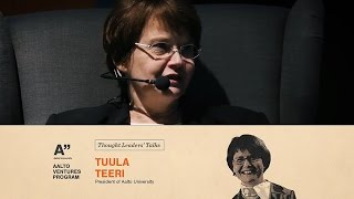 AVP Thought Leaders' Talk by Tuula Terri