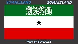 Flags of unrecognized states - Vlajky neuznaných států