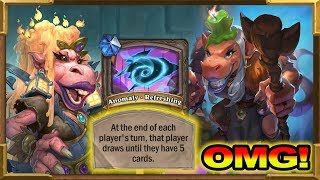 Hearthstone: 0 Mana Draw 5 Cards Every Turn Is Actually Insane! The Dalaran Heist Chapter 1 | Heroic