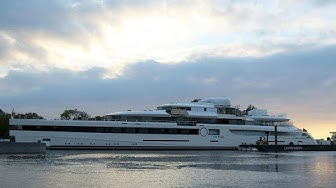 The launch video of Feadship's 93m/ 305ft Lady S