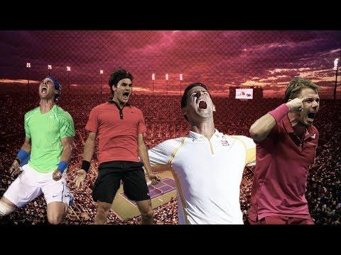 Epic Reactions ● Federer Nadal Djokovic Wawrinka | HD