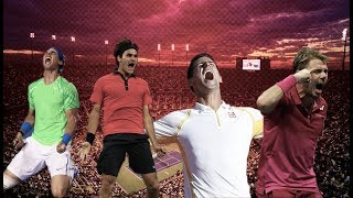 Epic Reactions ● Federer Nadal Djokovic Wawrinka | HD